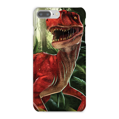 Velociraptor Red Phone Case - Immersive Play