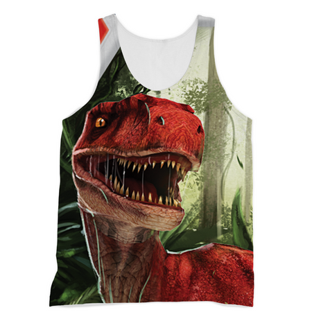 Velociraptor Red Sublimation Vest - Immersive Play