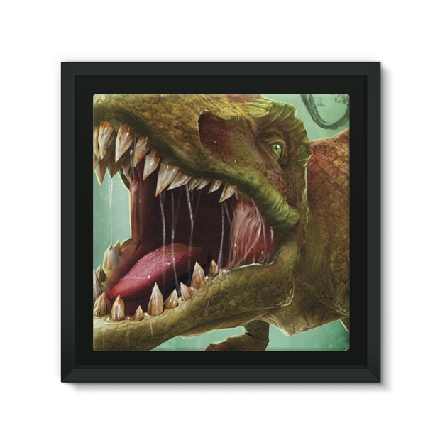 T-Rex Framed Canvas - Immersive Play