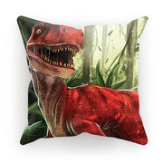 Velociraptor Red Cushion - Immersive Play