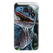 Velociraptor Blue Phone Case - Immersive Play