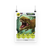 T-Rex Poster - Immersive Play