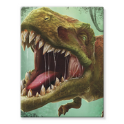 T-Rex Stretched Canvas - Immersive Play