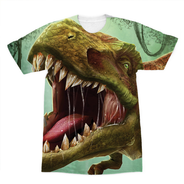 T-Rex Sublimation T-Shirt - Immersive Play