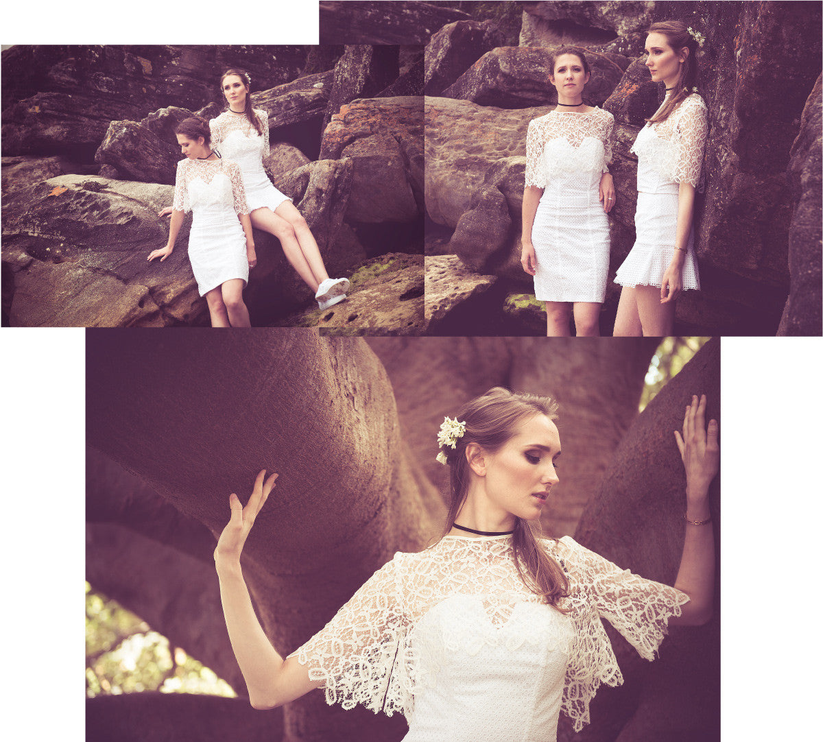Lisa Swinbanks Dark Rose Lookbook