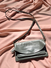 Mini Leather Bag in Olive by Stella Seminyak