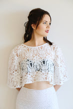 Sweet Nothings - Anthea Lace Crop in White