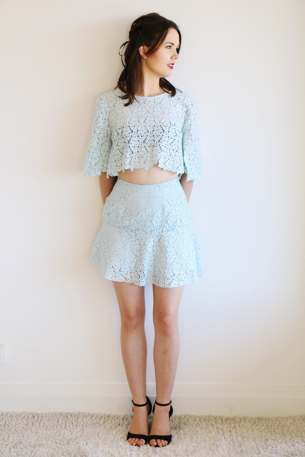 Sweet Nothings - Blue Belle Skirt