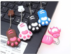 TECHKEY Cartoon Cat Claw pen drives