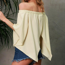 Feitong embroidery backless off shoulder Summer Top