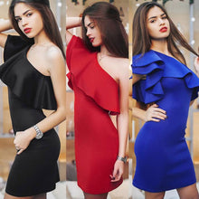 Feitong Sleeveless Sexy Off Shoulder Mini Party Dresses