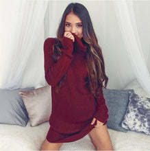 Feitong Long Sleeve Jumper Turtleneck Pullover Sweater