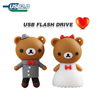 TECHKEY Cute Rilakkuma wedding memory stick