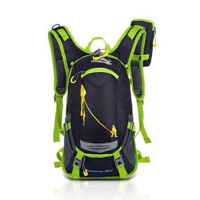 HU WAI JIAN FENG 15L Travel Backpack Waterproof Hiking Bag