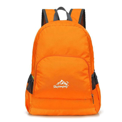 HU WAI JIAN FENG Adjustable straps Waterproof Folding mountaineering Backpack