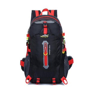 HU WAI JIAN FENG 40L Mountaineering Waterproof Nylon Travel Backpack