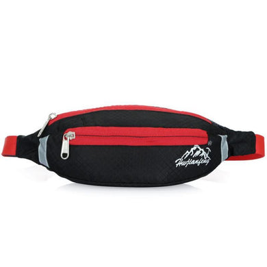 HU WAI JIAN FENG Sport Running Waist Pack Waterproof Adjustable Bag