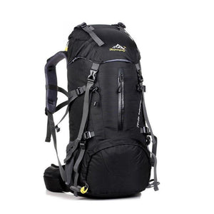 HU WAI JIAN FENG 50L Mountaineering Waterproof Folding Backpack