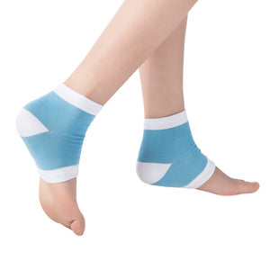 Yoga Socks for Cracked Skin Moisturising Open Toe Recovery Socks