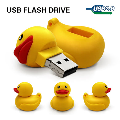 TECHKEY Rubber duck yellow usb