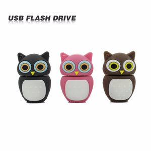 TECHKEY lovely OWL  Animal Pen Drive