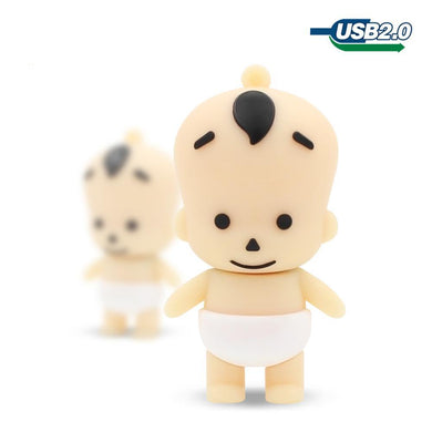 TECHKEY lovely baby boy kid Shape USB