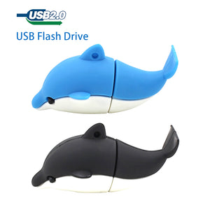 TECHKEY Dolphin Cartoon key chain Pen Drive