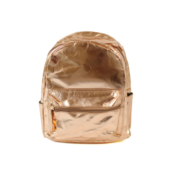 The Metallic Paper Backpack