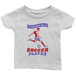 I wanna be a Soccer player (motion) - infant