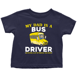 my Dad is a Bus Driver - toddler