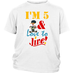 5 and love to Jive - youth