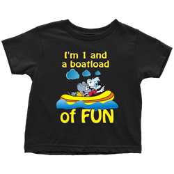 1 and a boatload of fun - toddler