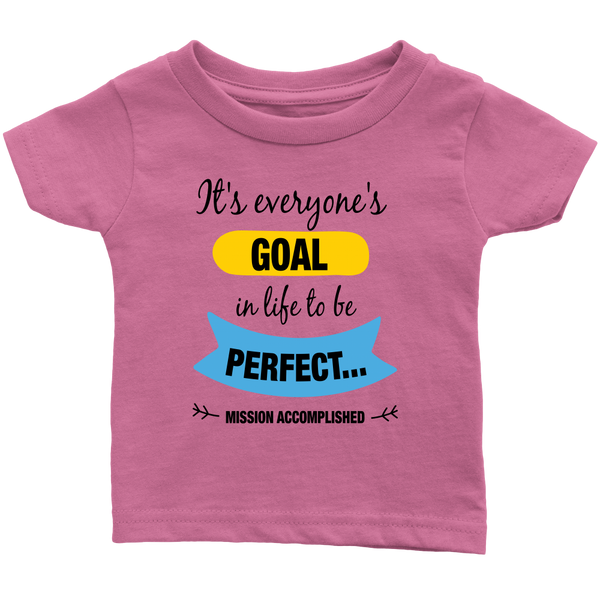 Goal to be Perfect - infant