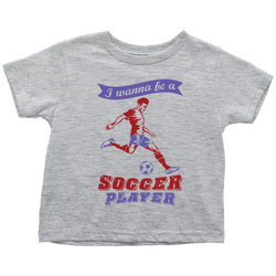 I wanna be a Soccer player (motion) - toddler