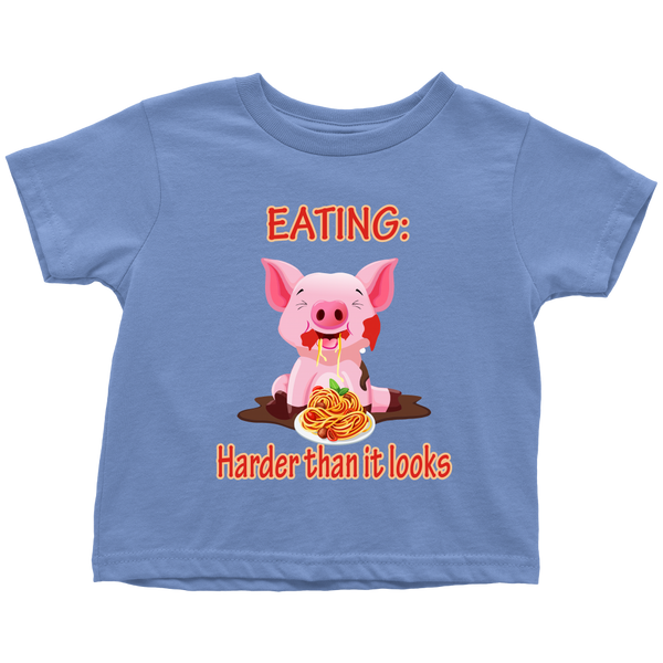 Eating, harder than it looks - toddler