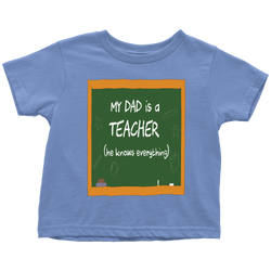 my Dad is a Teacher - toddler