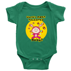 World's most talented baby - onesie
