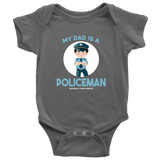 my Dad is a Policeman - onesie