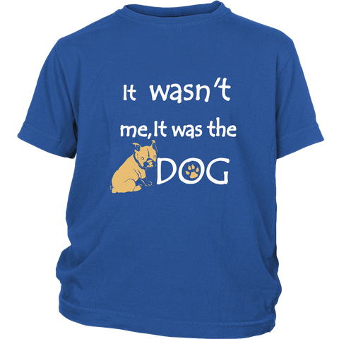 It was the Dog - youth