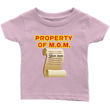 Property of M.O.M. - infant