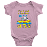 1 and a boatload of fun - onesie