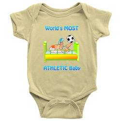 World's Most Athletic Baby - onesie