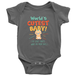 World's Cutest Baby - onesie