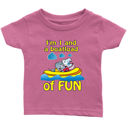 1 and a boatload of fun - infant
