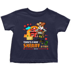 There's a new sheriff in town - toddler