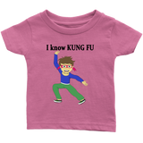 I know Kung Fu - infant