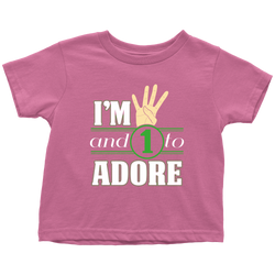 4 and 1 to adore - toddler