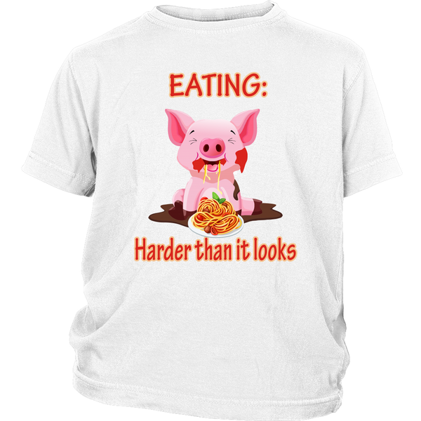 Eating, harder than it looks - youth