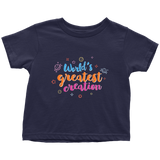 World's Greatest Creation - toddler