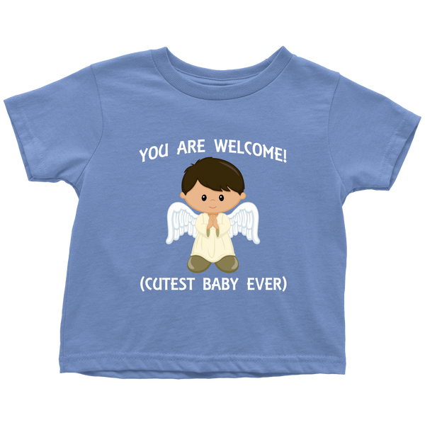 You are welcome! - toddler